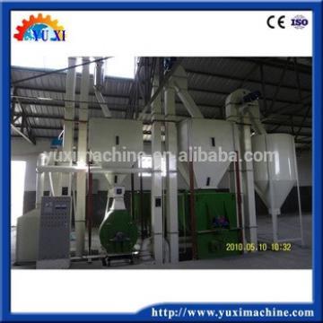 Poultry fodder manufacturing machine/chicken feed pellet making line/animal fodder producing line