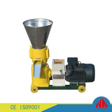 livestock and animal feed flat die pelletizing machine for poultry farm use