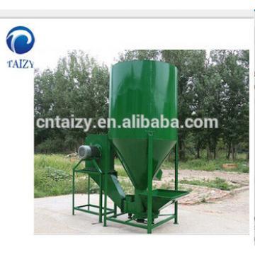 hot sale vertical grain mixer/Chicken Feed Mixing and Crushing Machine/Animal feed crusher & mixer