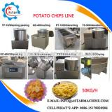 Snack Potato Chips Making Machine/Banana Chips Production Line/Potato Chips Machinery