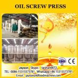 Screw type oil expeller/coconut oil press machine/oil extraction machine