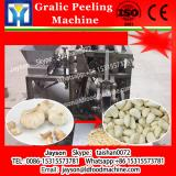 Chain-type dry garlic peeling peeler shelling sheller process machine