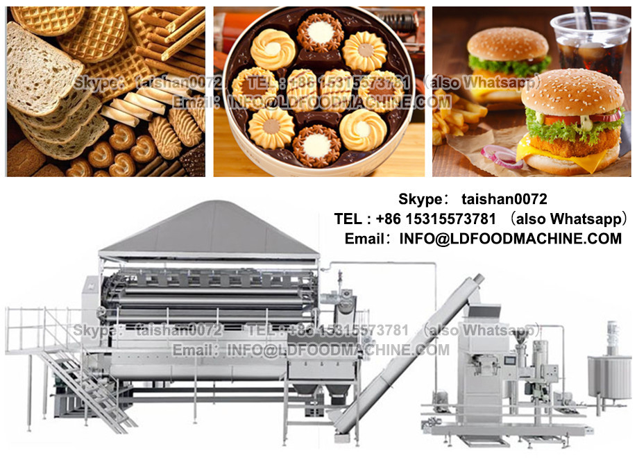 Fashionable high quality wafer biscuit making machine