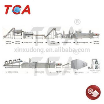 Full- automatic Fried Potato Chips Production Line / French Fries Making Machine / Frozen Fries Processing plant