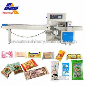 New arrival granola bar packing machine, chocolate cereal bar package machine