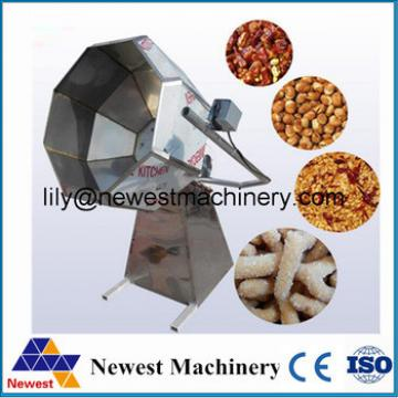 Wholesale biggest factory supply potato chips making flavoring machine/snack seasoning coated nut making machine