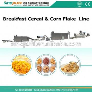 Corn Flakes Breakfast Cereal Production Line/Automatic Breakfast Cereal Corn Flakes Processing Line