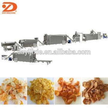 Dayi Puffed Cereal Breakfast Corn Flakes Snack Food Making Machine