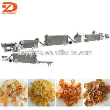 puffing breakfast cereal corn flakes making extrusion machine manufacturers price