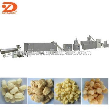 corn cheese puff snack extruding machine