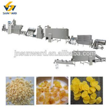 breakfast cereal machine, breakfast cereal food production line , corn flake machinery