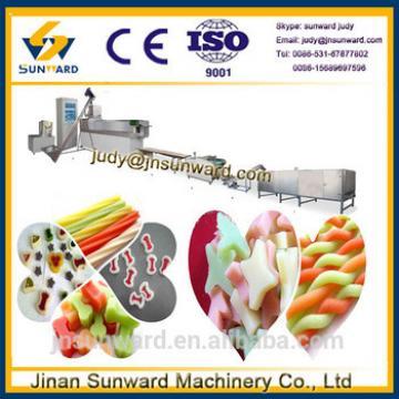 Customized new design automatic pet chews food making equipment, dog food machine