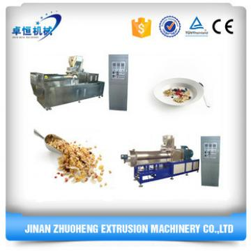 High Quality Syrup breakfast cereals corn flakes Making Machine