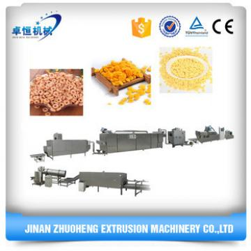 Whole set of automatic corn flakes production machinery line