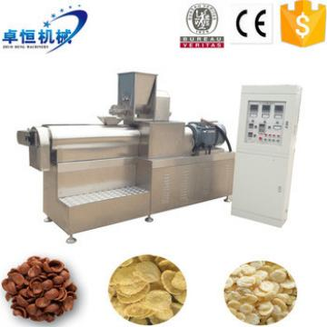 Breakfast cereal corn flakes food machine competitive price with high capacity