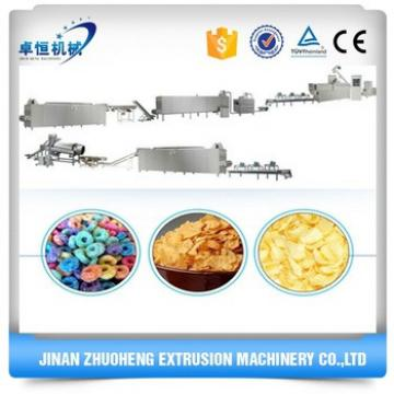 Automatic Industrial Stainless Steel Cereals Breakfast Corn Flakes Making Machinery