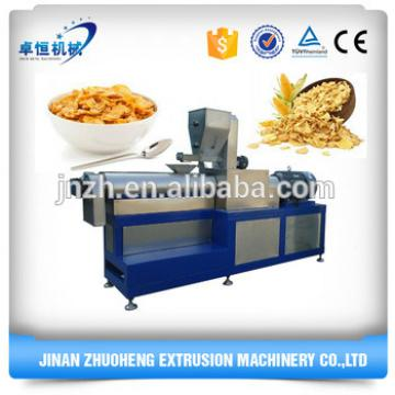 Kellogg Roasted Breakfast Cereal Corn Flakes Snack Food Extruder Machine
