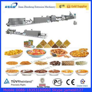 Chips Machine,Breakfast Cereal Food Production Line,Corn Flake Machinery