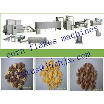 Automatic Cereal Breakfast Puffed Corn Flakes Snacks Processing Line