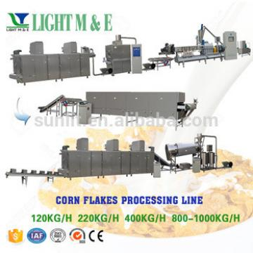 Breakfast cereal corn flakes coco pops manufacturing machine/production line