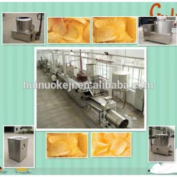 New design popular snack potato chips making machine