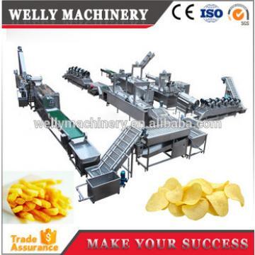 french fries machine/ potato chips line/ potato chips making machine