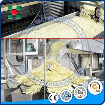 China Supplier Frozen Potato French Fries Production Line Automatic Potato Chips Making Machine Price