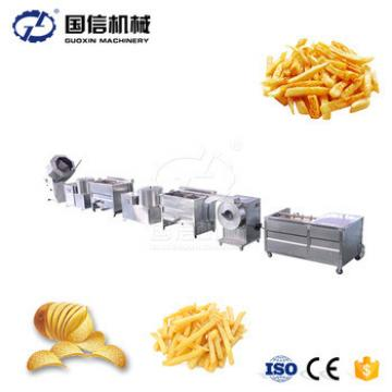 Sweet Patato Crisp Surgeler Chip Frying Machinery Potato Chips Making Machine