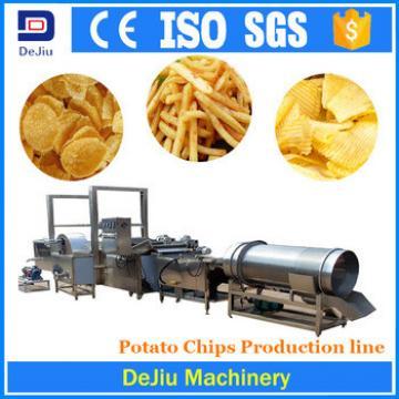 New automatic potato chips making machine / frozen french fries machinery price