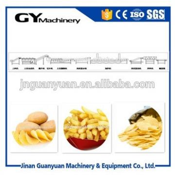 Full automatic potato chips cutting machine price/potato chips making plant with low price