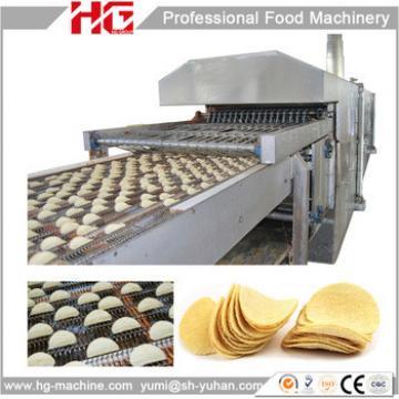 Fully Automatic Potato Chips Crisp Making Machines