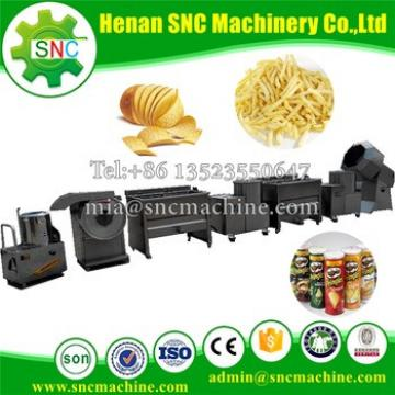 SNC Factory price semi-automatic potato chips making machine