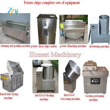 Stainless Steel Mini Potato Chips Machine / Semi-Automatic Potato Chips Machine