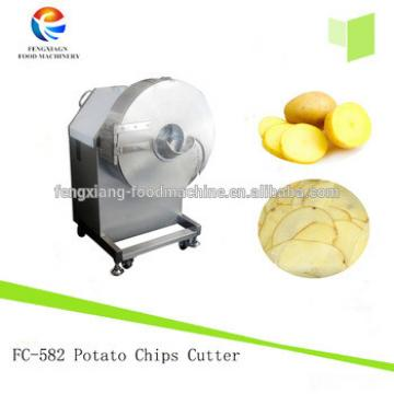 Large type Vegetable Potato Chips Cutting Machine and plantain slicer for restaurant use /carrot slicer