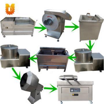 100kg per hour potato chips making machine line/french fries making machine