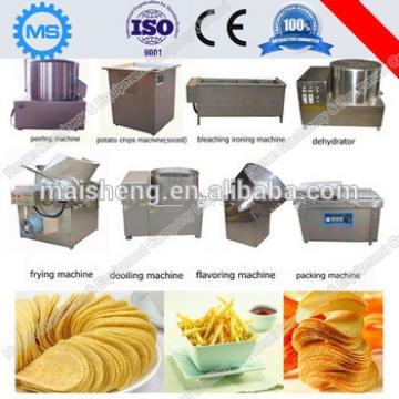 High output potato chips making machine manufacture