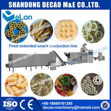 food processing industries potato chips making machine with flavors