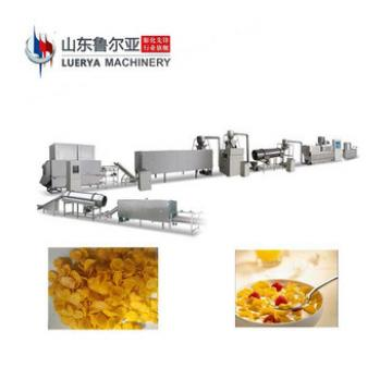 China Cheap breakfast cereals/corn flakes processing line cereals snack food machine