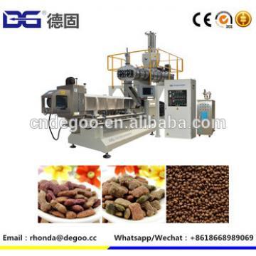High quality dog food extrusion machine pet food drying machine
