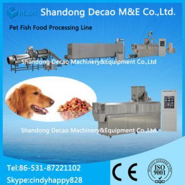 Pet dog food production machinery