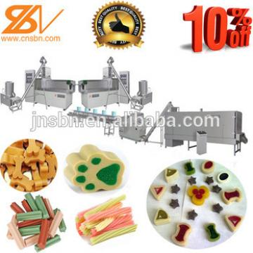 Single Screw Pet Chews Treat Feed Processing Line/Extruder Machine with CE Approved