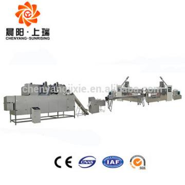 Cabinet controlled low consumption pet chew maker machine