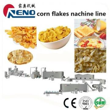 Complete fully line for producing corn flake and breakfast cereal snacks plant