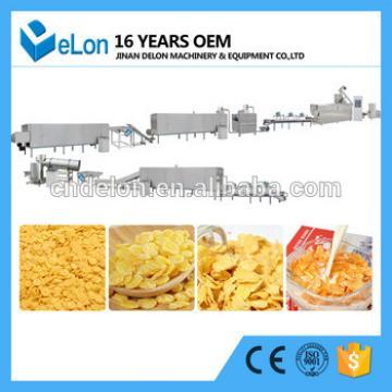 Jinan delon DL85-II corn flakes production line
