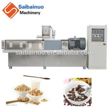 China supplier breakfast cereals make machinery production line