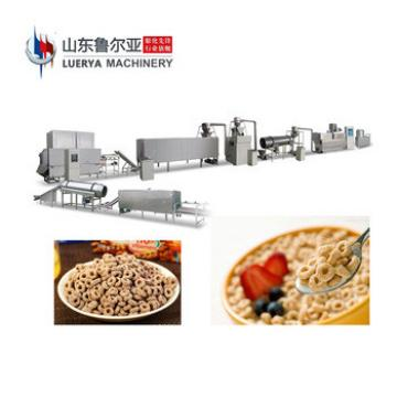 Factory Direct Sale hot sale breakfast cereal processing line extruded crunchy machine