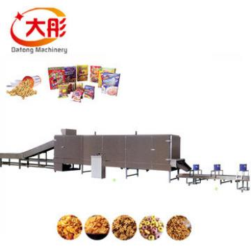 Agriculture automatic corn flakes breakfast cereals machine
