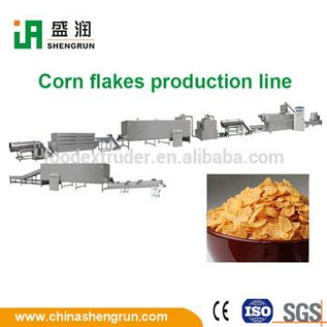 corn flakes breakfast cereal making dried food machine 100-500kg/h