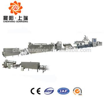 High quality instant corn flakes extruder making machine