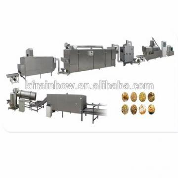 Lowest Price Made in China Breakfast Puffing Corn Cereal Making Machine Double Screw Extruder Corn Flakes Breakfast Cereal Make